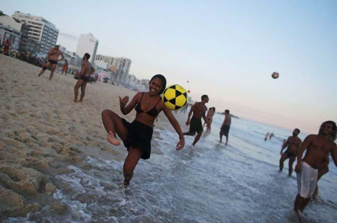 Οι παραλίες του Ρίο Ντε Τζανέιρο λίγες μέρες πριν τους Ολυμπιακούς Αγώνες (5)