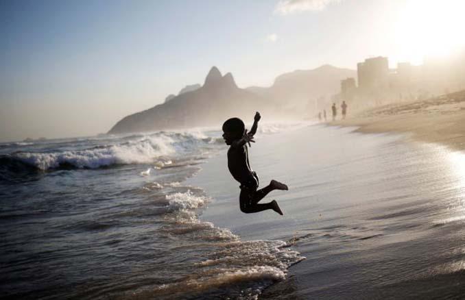 Οι παραλίες του Ρίο Ντε Τζανέιρο λίγες μέρες πριν τους Ολυμπιακούς Αγώνες (6)