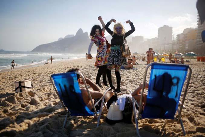 Οι παραλίες του Ρίο Ντε Τζανέιρο λίγες μέρες πριν τους Ολυμπιακούς Αγώνες (7)