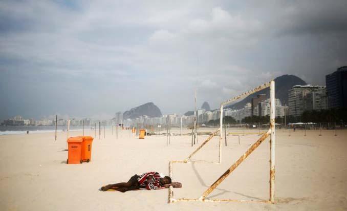 Οι παραλίες του Ρίο Ντε Τζανέιρο λίγες μέρες πριν τους Ολυμπιακούς Αγώνες (8)