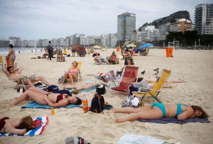 Οι παραλίες του Ρίο Ντε Τζανέιρο λίγες μέρες πριν τους Ολυμπιακούς Αγώνες (11)