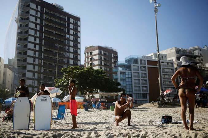 Οι παραλίες του Ρίο Ντε Τζανέιρο λίγες μέρες πριν τους Ολυμπιακούς Αγώνες (14)