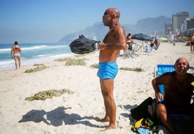 Οι παραλίες του Ρίο Ντε Τζανέιρο λίγες μέρες πριν τους Ολυμπιακούς Αγώνες (16)