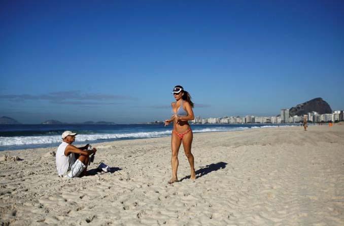 Οι παραλίες του Ρίο Ντε Τζανέιρο λίγες μέρες πριν τους Ολυμπιακούς Αγώνες (17)