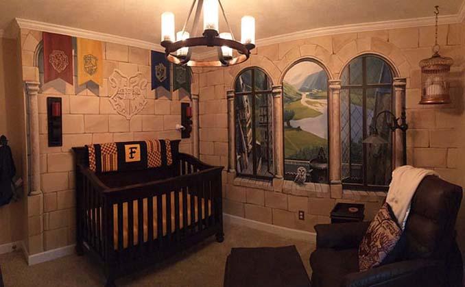 Πατέρας δημιούργησε βρεφικό δωμάτιο Harry Potter για τον μικρό του μάγο (1)