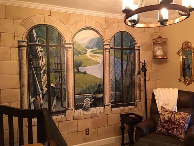 Πατέρας δημιούργησε βρεφικό δωμάτιο Harry Potter για τον μικρό του μάγο (2)