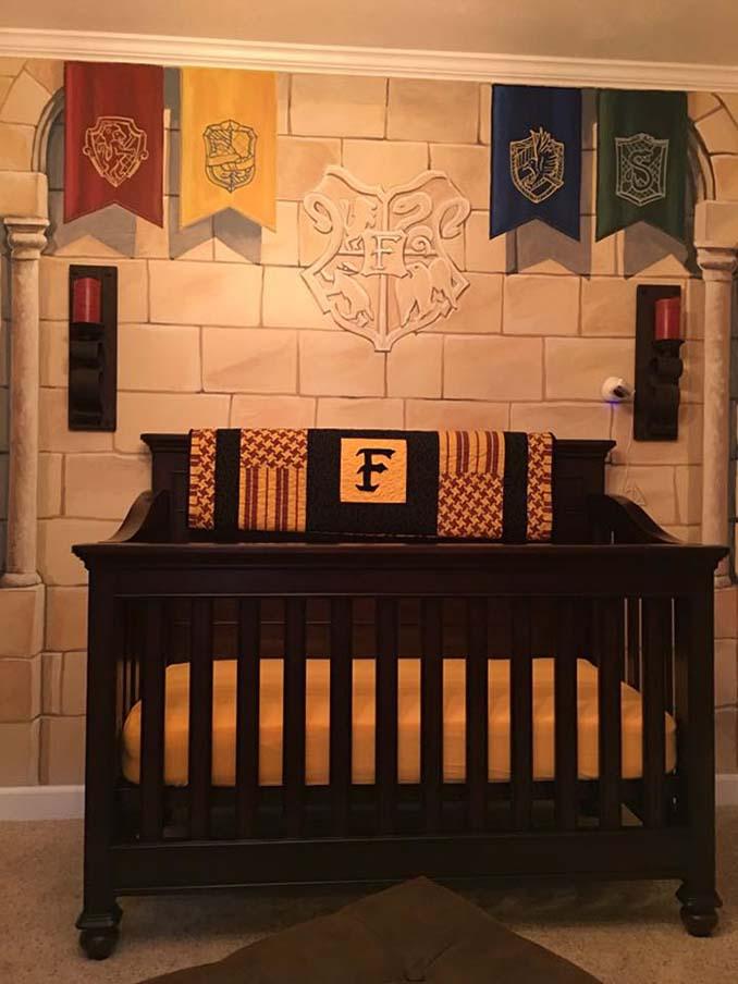 Πατέρας δημιούργησε βρεφικό δωμάτιο Harry Potter για τον μικρό του μάγο (4)
