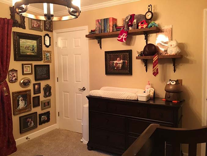 Πατέρας δημιούργησε βρεφικό δωμάτιο Harry Potter για τον μικρό του μάγο (7)