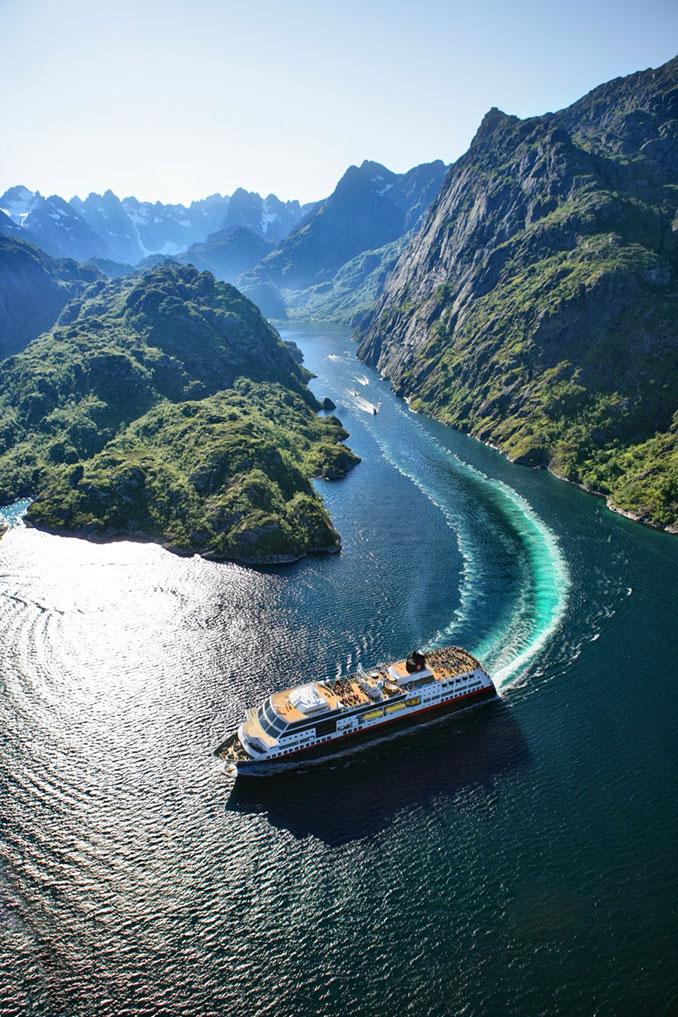 Κρουαζιέρα στα νορβηγικά φιόρδ | Φωτογραφία της ημέρας