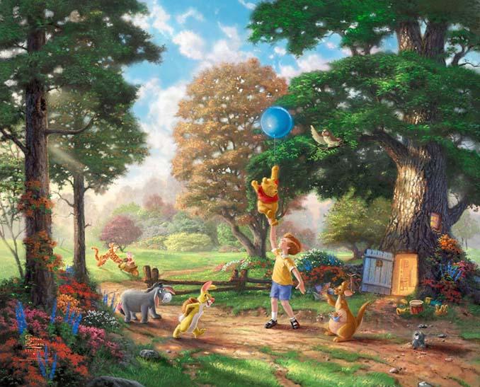 Αυτοί οι πίνακες ζωγραφικής με θέμα την Disney είναι πιο εντυπωσιακοί κι από τις ταινίες (23)