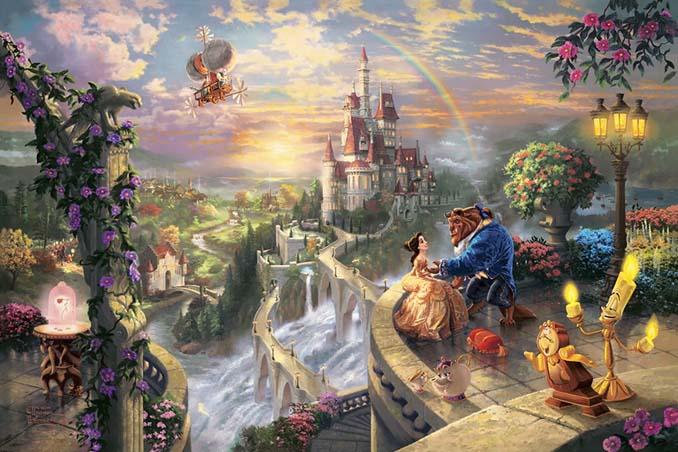 Αυτοί οι πίνακες ζωγραφικής με θέμα την Disney είναι πιο εντυπωσιακοί κι από τις ταινίες (24)