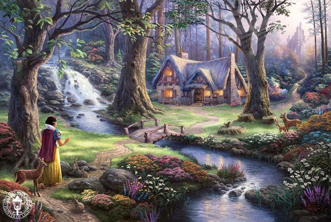 Αυτοί οι πίνακες ζωγραφικής με θέμα την Disney είναι πιο εντυπωσιακοί κι από τις ταινίες (1)