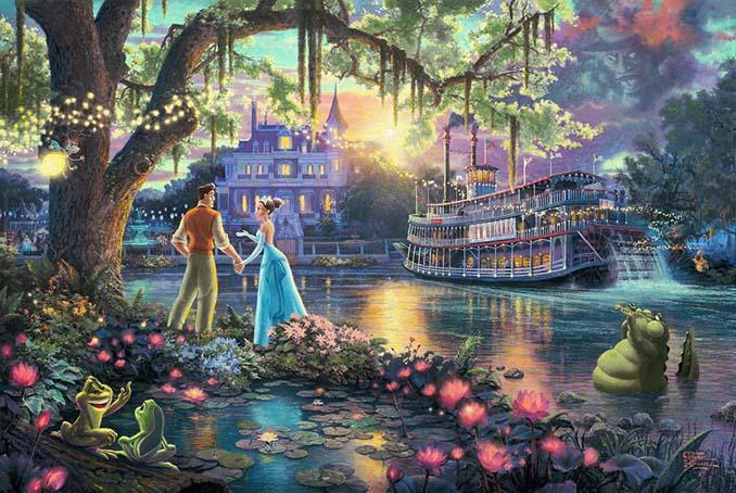 Αυτοί οι πίνακες ζωγραφικής με θέμα την Disney είναι πιο εντυπωσιακοί κι από τις ταινίες (2)