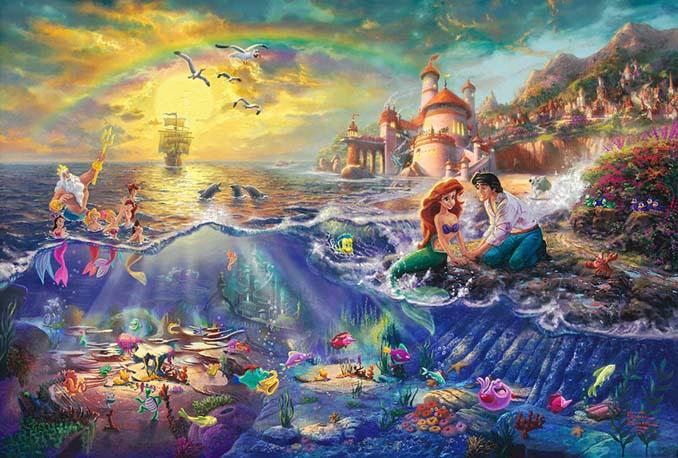 Αυτοί οι πίνακες ζωγραφικής με θέμα την Disney είναι πιο εντυπωσιακοί κι από τις ταινίες (3)