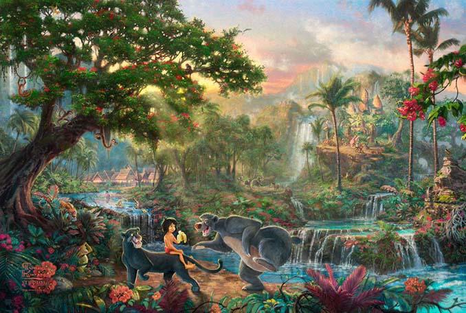 Αυτοί οι πίνακες ζωγραφικής με θέμα την Disney είναι πιο εντυπωσιακοί κι από τις ταινίες (5)