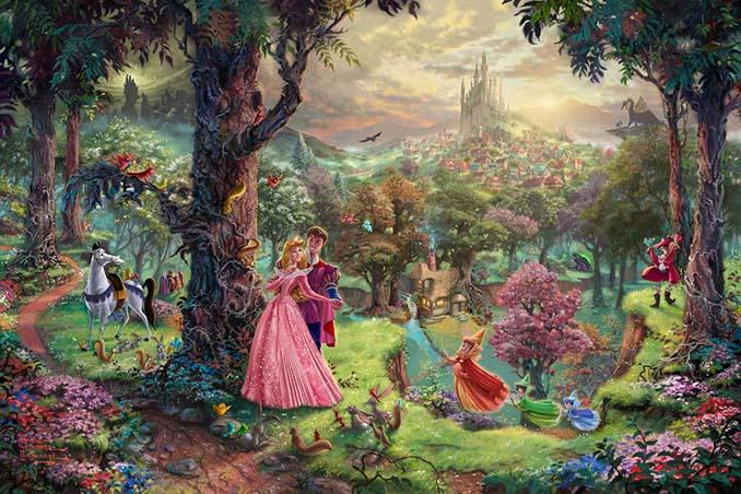 Αυτοί οι πίνακες ζωγραφικής με θέμα την Disney είναι πιο εντυπωσιακοί κι από τις ταινίες (6)