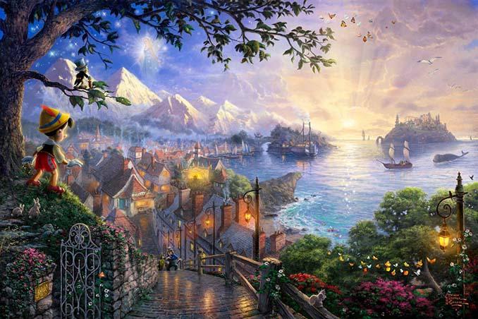 Αυτοί οι πίνακες ζωγραφικής με θέμα την Disney είναι πιο εντυπωσιακοί κι από τις ταινίες (7)