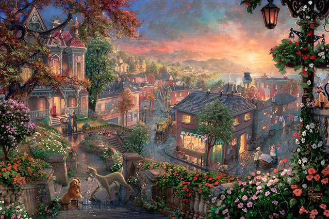 Αυτοί οι πίνακες ζωγραφικής με θέμα την Disney είναι πιο εντυπωσιακοί κι από τις ταινίες (9)
