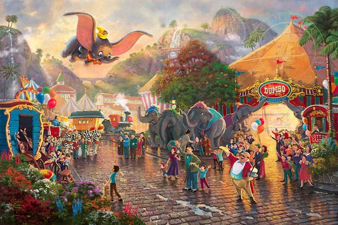 Αυτοί οι πίνακες ζωγραφικής με θέμα την Disney είναι πιο εντυπωσιακοί κι από τις ταινίες (10)