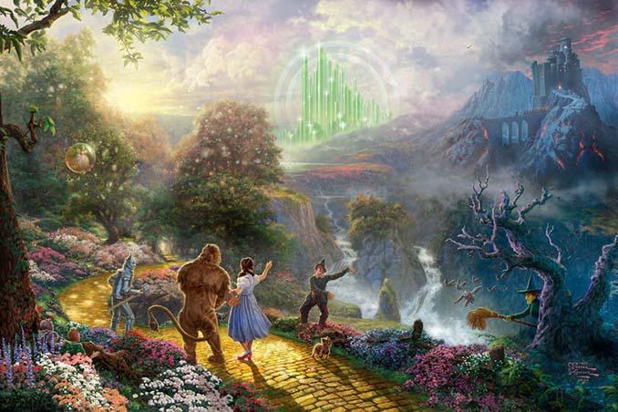Αυτοί οι πίνακες ζωγραφικής με θέμα την Disney είναι πιο εντυπωσιακοί κι από τις ταινίες (11)