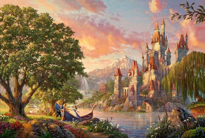 Αυτοί οι πίνακες ζωγραφικής με θέμα την Disney είναι πιο εντυπωσιακοί κι από τις ταινίες (15)