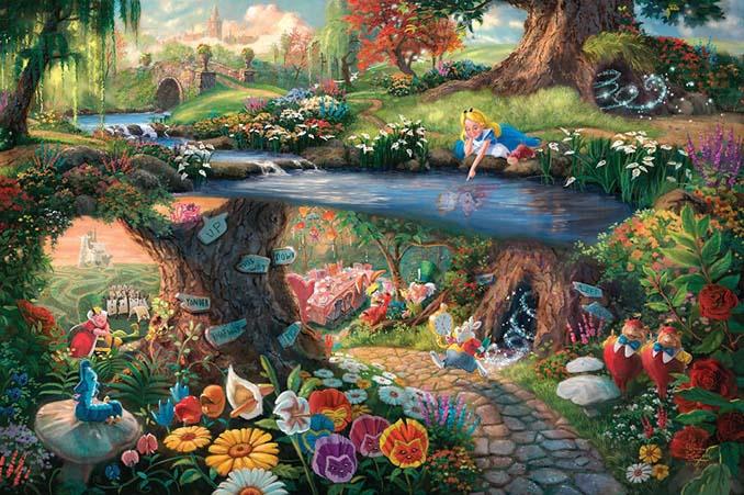 Αυτοί οι πίνακες ζωγραφικής με θέμα την Disney είναι πιο εντυπωσιακοί κι από τις ταινίες (19)