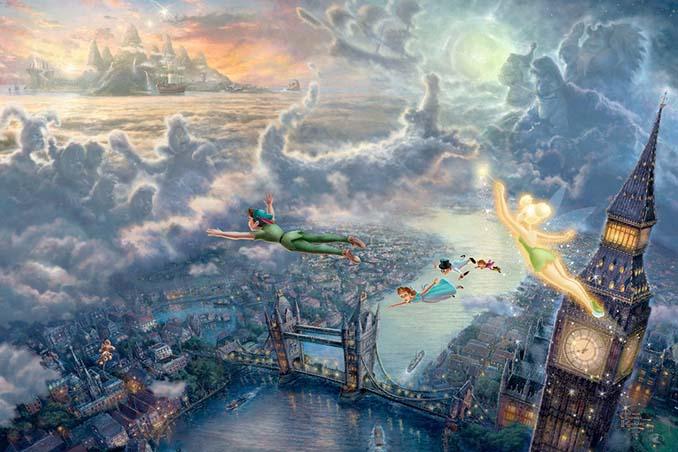 Αυτοί οι πίνακες ζωγραφικής με θέμα την Disney είναι πιο εντυπωσιακοί κι από τις ταινίες (21)