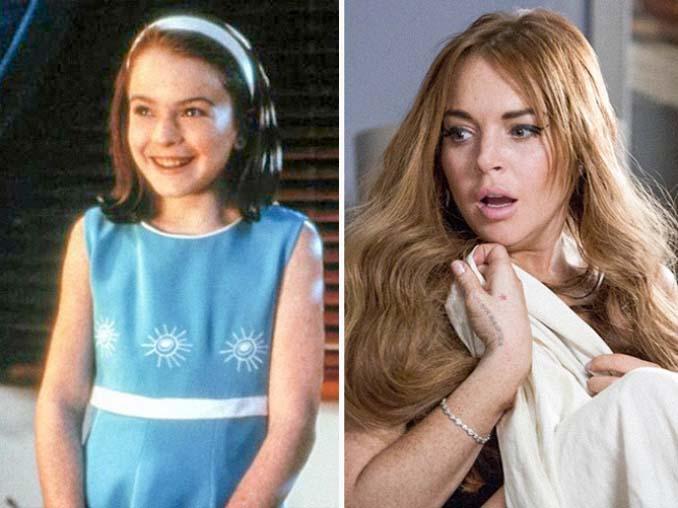 Πως ήταν διάσημοι ηθοποιοί στον πρώτο τους ρόλο σε σχέση με σήμερα (7)