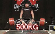 Σήκωσε 500 κιλά σημειώνοντας απίστευτο παγκόσμιο ρεκόρ
