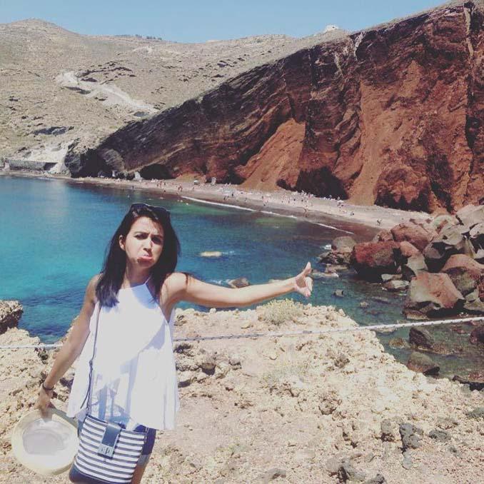Ταξίδι του μέλιτος στην Ελλάδα χωρίς τον σύζυγό - ξεκαρδιστικές φωτογραφίες (2)