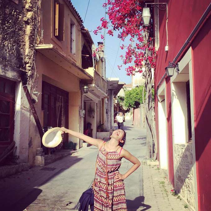 Ταξίδι του μέλιτος στην Ελλάδα χωρίς τον σύζυγό - ξεκαρδιστικές φωτογραφίες (6)