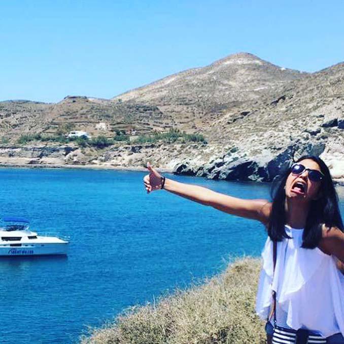 Ταξίδι του μέλιτος στην Ελλάδα χωρίς τον σύζυγό - ξεκαρδιστικές φωτογραφίες (8)