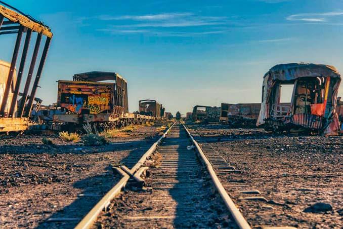 Τέλος της γραμμής: Νεκροταφείο τρένων στη Βολιβία (3)