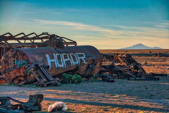 Τέλος της γραμμής: Νεκροταφείο τρένων στη Βολιβία (7)