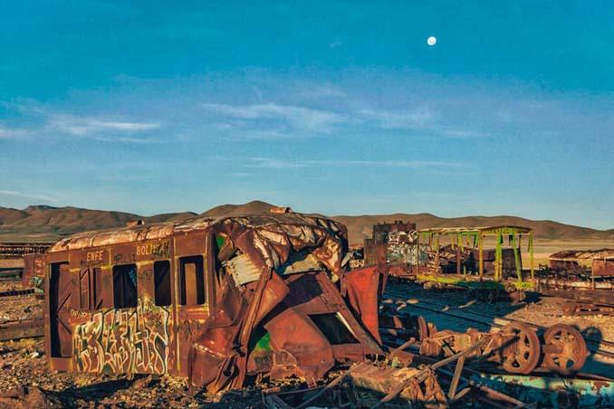 Τέλος της γραμμής: Νεκροταφείο τρένων στη Βολιβία (8)