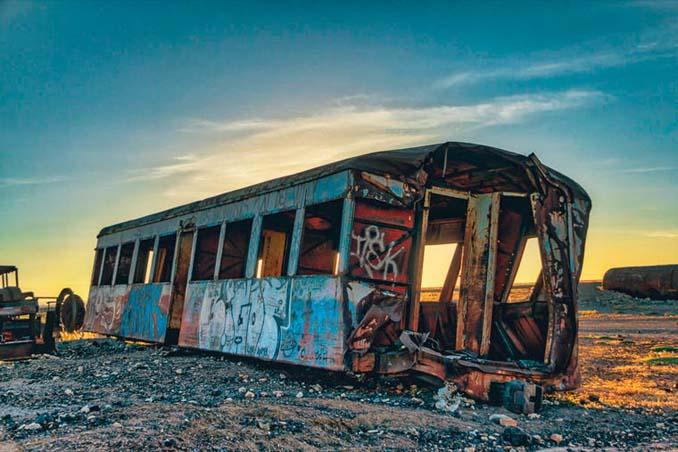 Τέλος της γραμμής: Νεκροταφείο τρένων στη Βολιβία (9)