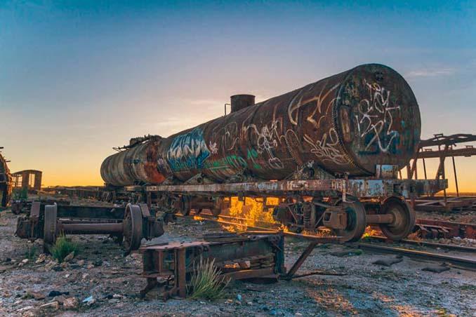 Τέλος της γραμμής: Νεκροταφείο τρένων στη Βολιβία (11)