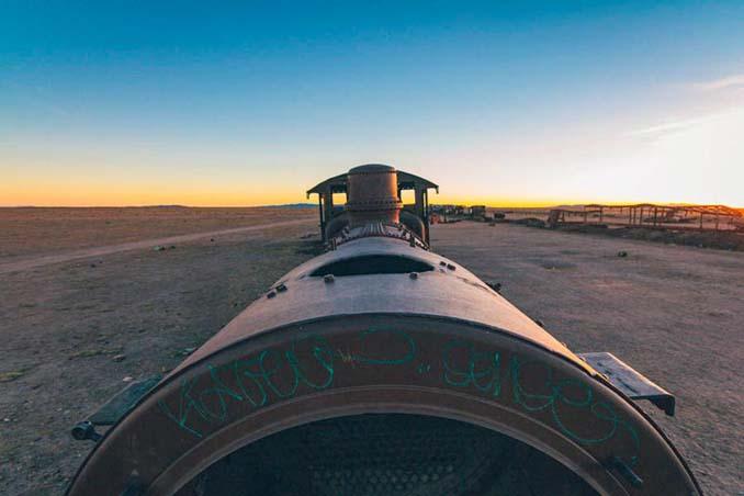Τέλος της γραμμής: Νεκροταφείο τρένων στη Βολιβία (14)
