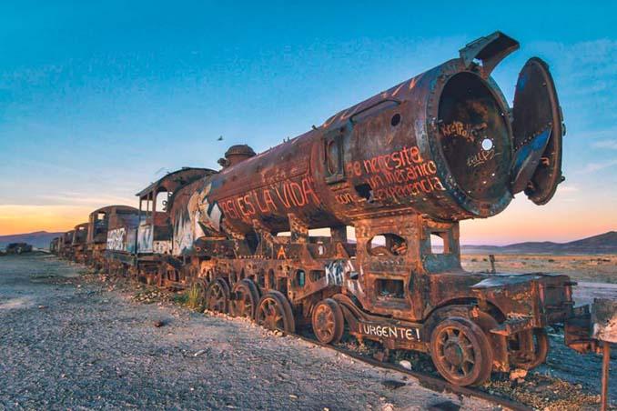 Τέλος της γραμμής: Νεκροταφείο τρένων στη Βολιβία (15)