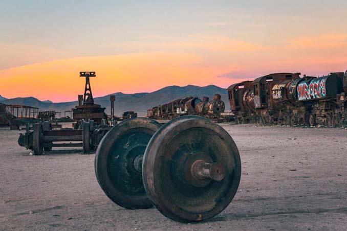 Τέλος της γραμμής: Νεκροταφείο τρένων στη Βολιβία (17)