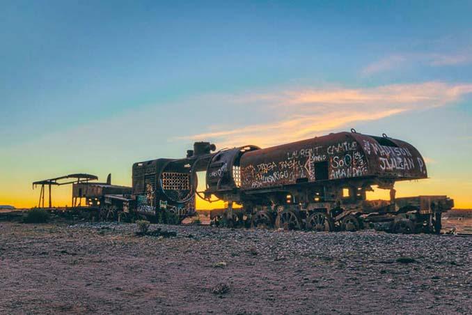 Τέλος της γραμμής: Νεκροταφείο τρένων στη Βολιβία (19)