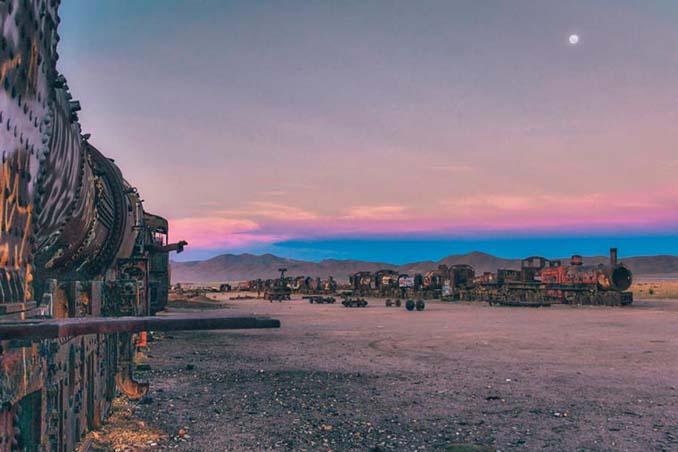 Τέλος της γραμμής: Νεκροταφείο τρένων στη Βολιβία (21)