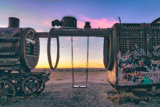 Τέλος της γραμμής: Νεκροταφείο τρένων στη Βολιβία (22)