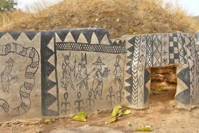 Tiebele: Το αφρικανικό χωριό με την μοναδική διακόσμηση στους τοίχους των σπιτιών (7)