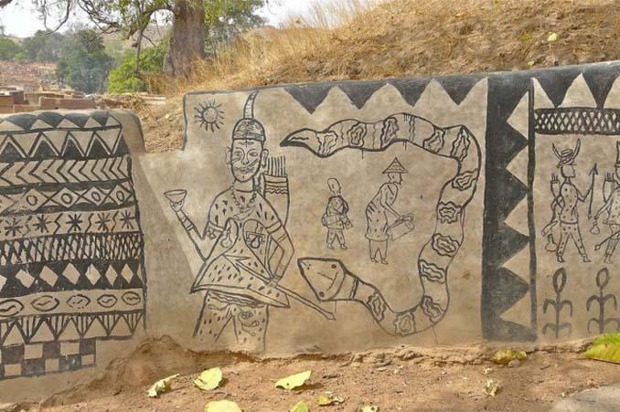 Tiebele: Το αφρικανικό χωριό με την μοναδική διακόσμηση στους τοίχους των σπιτιών (15)
