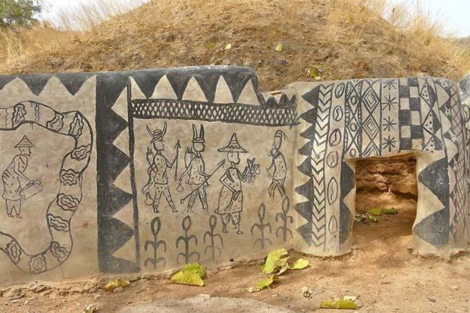 Tiebele: Το αφρικανικό χωριό με την μοναδική διακόσμηση στους τοίχους των σπιτιών (16)