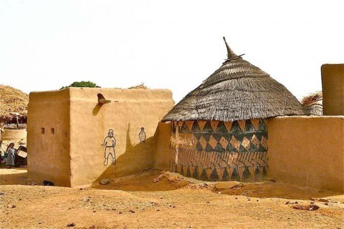 Tiebele: Το αφρικανικό χωριό με την μοναδική διακόσμηση στους τοίχους των σπιτιών (18)