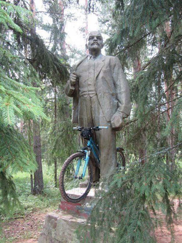 Τρελά κι αστεία σκηνικά με ποδήλατο (10)