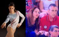 Αντιδράσεις γονιών καθώς η κόρη τους αγωνίζεται στους Ολυμπιακούς Αγώνες του Ρίο