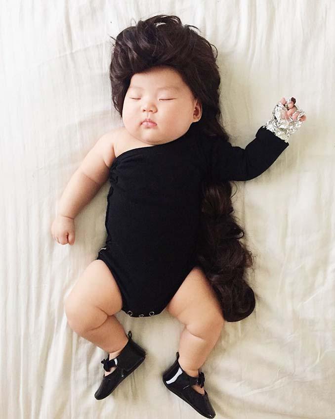 Οι απίθανες μεταμφιέσεις ενός μωρού την ώρα που κοιμάται (12)